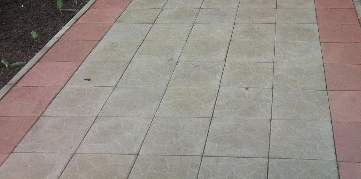 купить тротуарную плитку для дачи